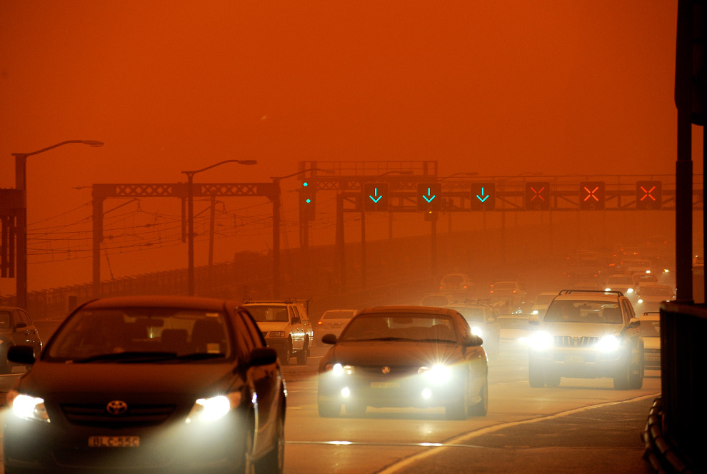 1. The Strong, Dry Desert Wind Blows